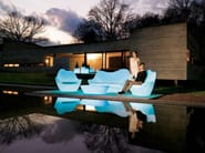 Garden armchair with light SABINAS | Garden armchair - VONDOM