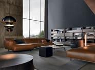 Leather sofa TRIBECA   Leather sofa - Poliform