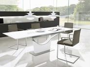 Rectangular dining table KATE - Ronald Schmitt