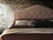 Double bed with upholstered headboard BORA - Milano Bedding