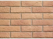 Reconstructed stone wall tiles with brick effect INTERFIX - Weser