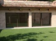 Corten™ patio door MOGS 65® TAGLIO TERMICO COR-TEN | Patio door - Mogs srl unipersonale