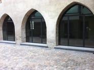 Galvanized steel patio door BASIC 20/10 E 15/10   French door - Mogs srl unipersonale