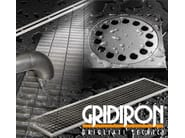 Drainage channel and part Stainless steel products - GRIDIRON GRIGLIATI