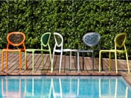 Medallion stackable chair SUPER GIO - SCAB DESIGN