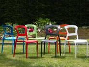 Ergonomic stackable chair PEPPER - SCAB DESIGN