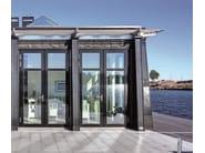 Energy-saving exterior aluminium entry door WICSTYLE 75 EVO - WICONA