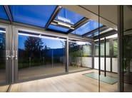 Lift and slide window WICSLIDE 160 - WICONA