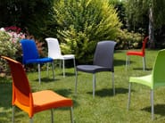 Ergonomic stackable chair JENNY | Stackable chair - SCAB DESIGN