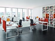Office workstation WORKING | Multiple office workstation - Zalf