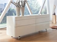 Lacquered sideboard with drawers NEO | Sideboard with drawers - Hülsta-Werke Hüls