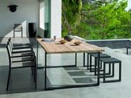 Rectangular garden table PRATO   Garden table - MANUTTI