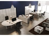 Multiple office workstation CORA | Office workstation - MASCAGNI