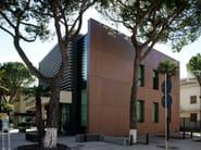 Outdoor fiber-reinforced concrete wall tiles [fibre C] RIEDER - KALIKOS INTERNATIONAL