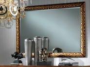 Framed rectangular mirror SCULTURA - Carpanelli Classic