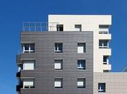 Ventilated facade MOEDING ALPHATON® - KALIKOS INTERNATIONAL