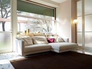 Fabric sofa with removable cover BOOK NEST 011 - Nube Italia