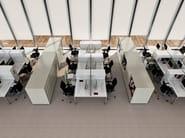 Low modular office storage unit VERTICAL FILE - Dieffebi