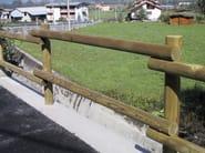 Wooden Fence ILT MONTANA LEGNO | Fence - INDUSTRIA LEGNAMI TIRANO