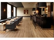 Laminate floor tiles with wood effect BERRYALLOC PURELOC - Woodco