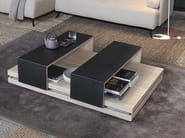 Rectangular MDF coffee table SLIDE - Ronda Design