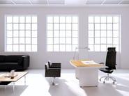 Wooden executive desk ARCO | Executive desk - MASCAGNI