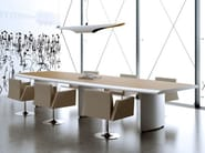 Wooden meeting table ARCO | Meeting table - MASCAGNI