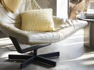 Square mohair cushion SLUMBER | Cushion - Casalis