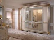 Art Nouveau mirrored wooden wardrobe LIBERTY | Wardrobe - Arredoclassic
