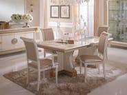 Art Nouveau rectangular dining table LIBERTY | Table - Arredoclassic