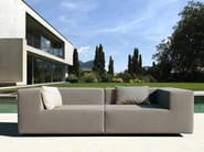 Sectional modular sofa LOOP | Garden sofa - April Furniture