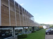 Sunscreening system for facade Solar shading - BELLOTTI