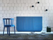 Lacquered wooden sideboard with doors CODE | Sideboard - Miniforms