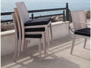Stackable oak restaurant chair MINUETTO S - Imperial Line