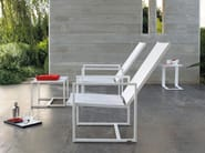Low aluminium garden side table OPEN 32 - MANUTTI