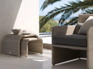 Low rope garden side table SWING | Garden side table - MANUTTI