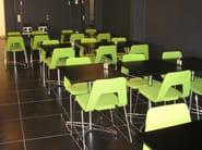 Sled base chair STUDIO | Sled base chair - Johanson Design