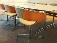 Chair with 4-spoke base with armrests GAP | Chair with 4-spoke base - Johanson Design