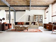 Sectional sofa with removable cover LONG ISLAND - ROCHE BOBOIS