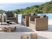 Club rope garden armchair ORLANDO | Garden armchair - MANUTTI