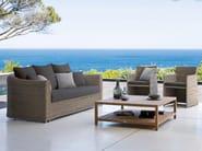 2 seater rope garden sofa ORLANDO | Garden sofa - MANUTTI