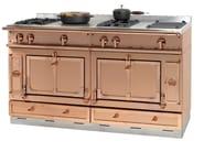 Stainless steel cooker CHÂTEAU 150 - La Cornue