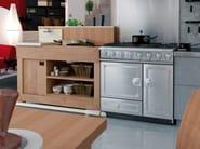 Stainless steel cooker CORNUFÉ 90 - La Cornue