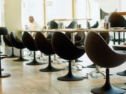 Upholstered fabric easy chair VENUS | Easy chair - Johanson Design