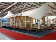 Living prefabricated modular structure MEDITERRANEO - Sprech