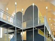 Titanium-Zinc wall tiles with metal effect INTERIEUR LINE - RHEINZINK Italia