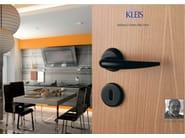 Contemporary style brass door handle CALLIOPE | Door handle - KLEIS