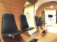 High-back guest chair VIGGEN | High-back armchair - Johanson Design