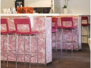 Barstool with footrest JACKIE | Stool - Johanson Design