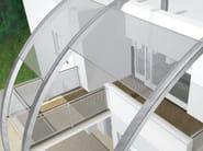 Railing for window and balcony Outdoor railing - ITALFIM